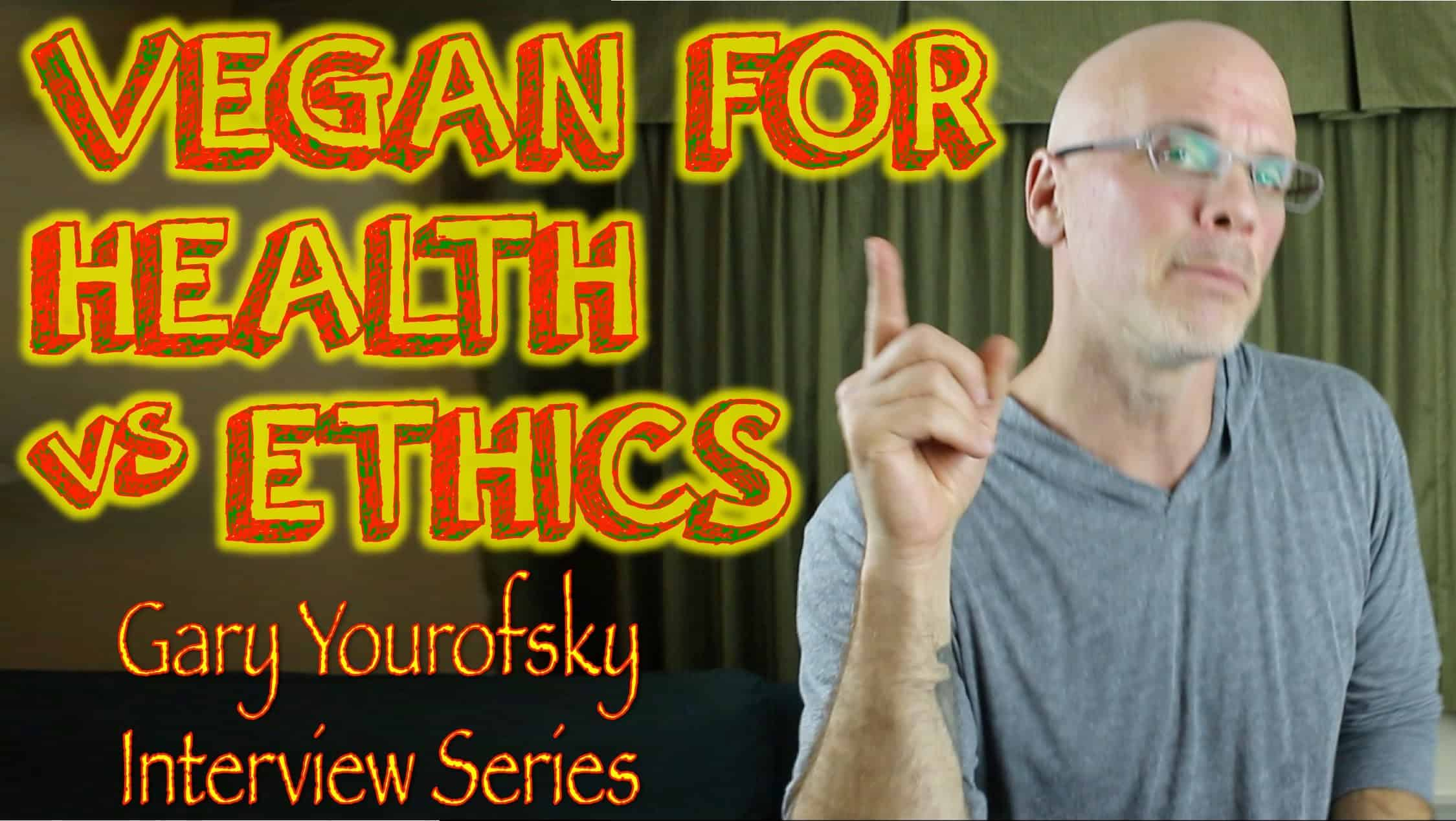 Is Going Vegan for Health Enough? | Gary Yourofsky