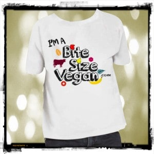 Bite Size Vegan Kids Tee Shirt
