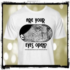 Are your eyes open? tee-shirt
