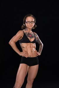 Emily Moran Barwick Vegan Muscle Photo Shoot Bodybuilding