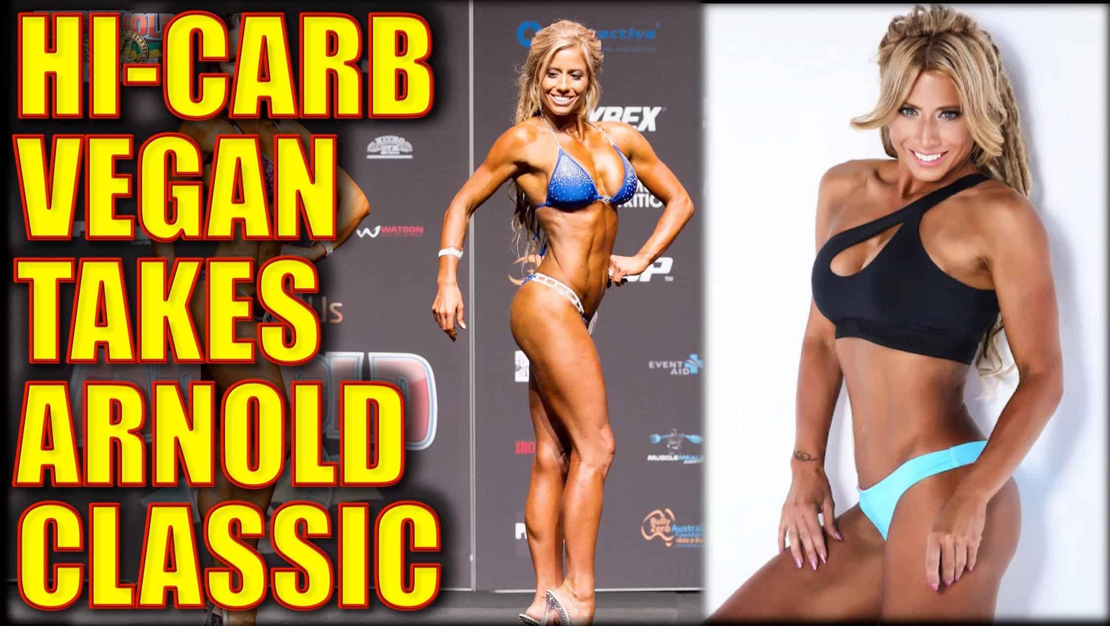 Vegan Fitness Model Wins Arnold Classic At 42!!