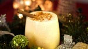 And anja from cooking with pants helps us wash it all down with a festive vegan eggless nog.