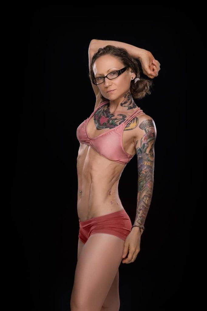Emily Moran Barwick Vegan Muscle Photo Shoot Bodybuilding