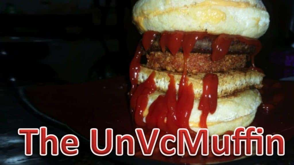 The UnVcMuffin from Andre aka The Unhealthy Vegan of Instagram fame