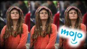 The image is split into three and shows the same close up of the same person each time. The last image has the WatchMojo YouTube logo overlaid upon it.