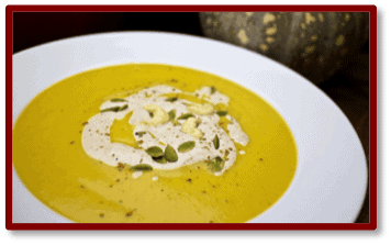 Spiced Pumpkin Soup from Cooking With Plants