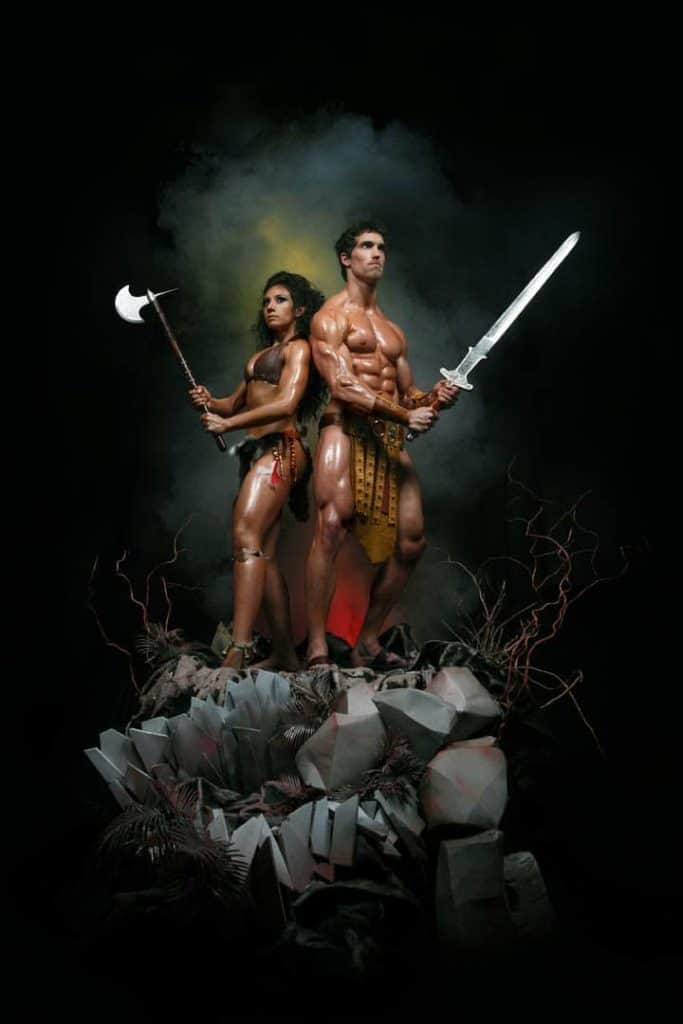 Derek Tresize and Marcella Torres Vegan Bodybuildfers