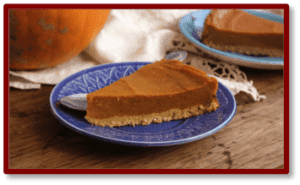 Pumpkin Pie from Plant Based Judy