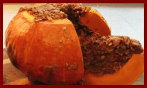 Stuffed Pumpkin from Sim's Kitchenette